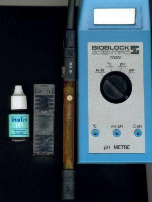 Chimie des eaux et de l 39 eau de mer - Ph metre electronique ...
